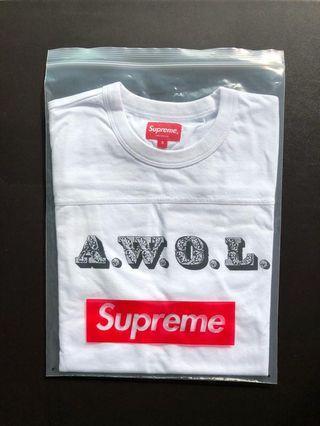 (S-size) Supreme AWOL T