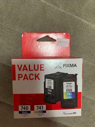 Canon Printer Ink 740/741