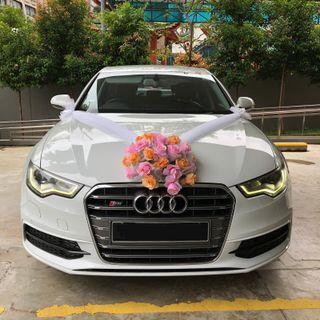 Audi A6 Rental w/ Driver (wedding car)