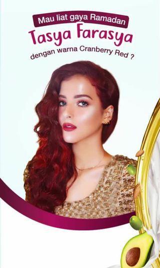 Garnier Tasya Farasyaa // Rasberry Red