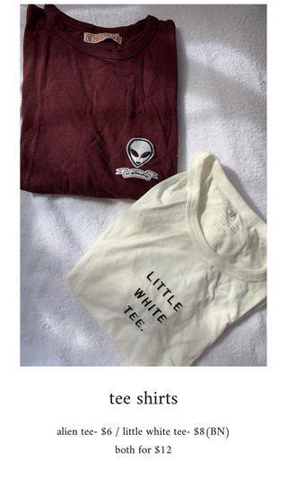 🚚 tee shirts