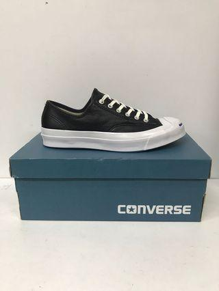 CONVERSE JACK PURCELL SIGNATURE OX LEATHER BLACK