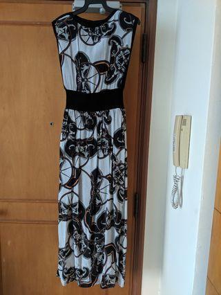 Long Dress silk