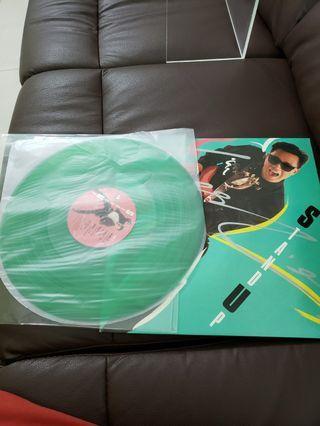 張國榮stand up 黑膠唱片(綠色)