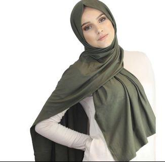 [PO] Light and comfortable jersey hijab for Muslimah