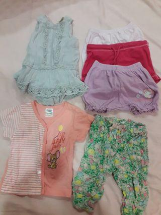 🚚 Baby clothes 0-6months
