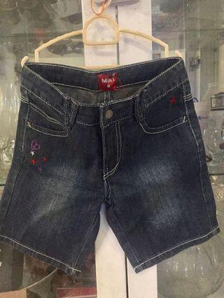 3/4 Miki Blue Jeans
