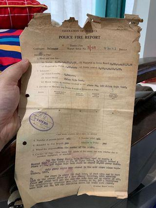 Lot of Vintage Documents