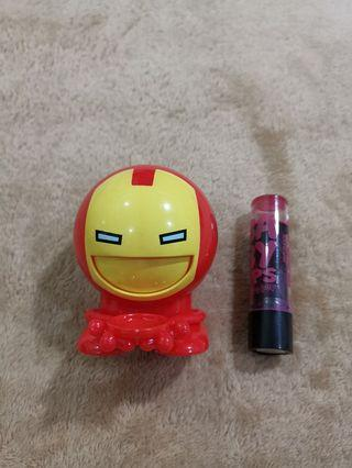 Promo 3 for 100php - Iron Man Mini Gumball/Candy Storage