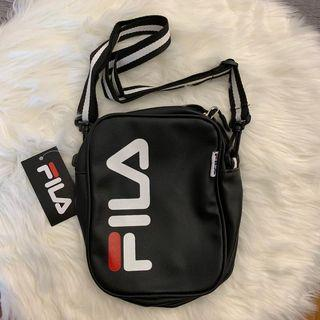 FILA PU LEATHER SHOULDER SLING BAG