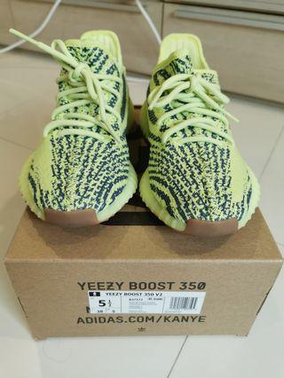 Authentic Adidas Yeezy 350 V2 UK5