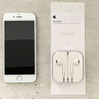 iPhone 6, Silver, 64 GB
