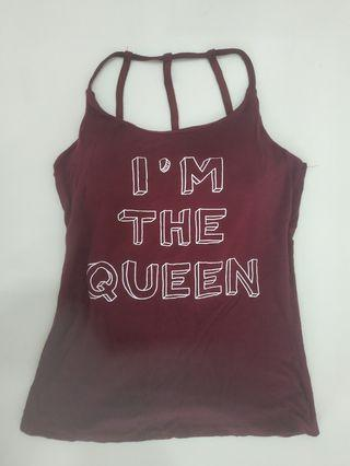 "BN "" I'm the Queen "" Tank Top"