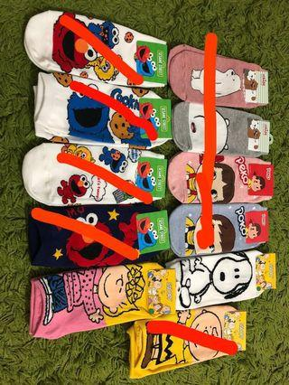 🚚 Cute socks from Korea
