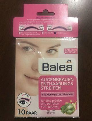 Eyebrow Wax Strips