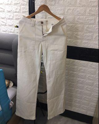 🚚 氣質牛窄寬褲