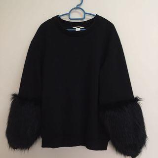 Black Fancy Sweatshirt