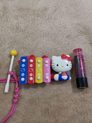 Promo 3 for 100php - Sanrio Hello Kitty Mini Xylophone