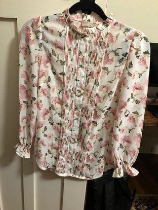 Forcast Floral pattern blouse size 8-10 RRP $80