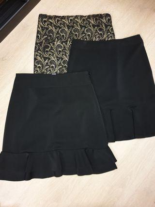 🚚 Black Skirts
