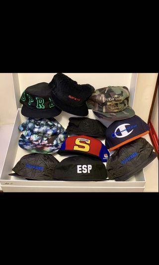 Supreme cap assorted, brand new