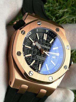AP RoyalOak Diver Rose Gold