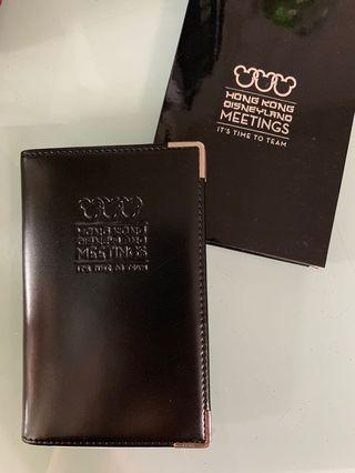 Disneyland Business Card Holder with notepad