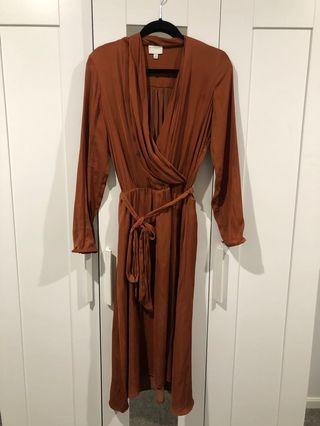 Witchery drapes dress