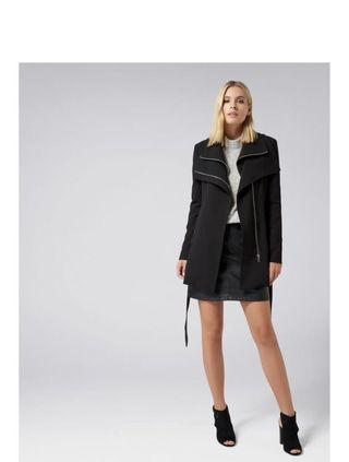 Brand NEW Forever New Wrap Coat size 8-10