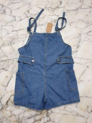🚚 Denim short jumper