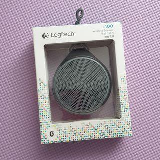 🚚 Logitech X100 Mobile Wireless Bluetooth Portable Speaker Black
