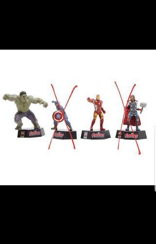 2款 鐵甲奇俠 變形俠醫 復仇者聯盟2:奧創紀元 限量版 Figure Ironman Hulk Avengers 2: Age of Ultron Limited Edition Super Hero Disney 底座 迪士尼 Marvel
