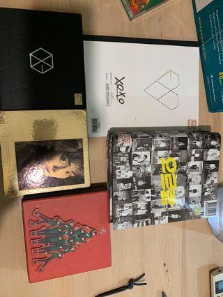 🚚 EXO Albums