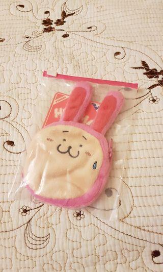 (全新) i.t Hyoma 兔仔散紙包 Coins Bag