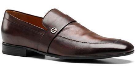 Gucci Men's Slip-on Leather Loafer