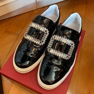 Roger Vivier black sneakers