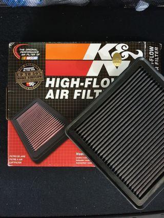 K&N Air Filter Subaru Forester