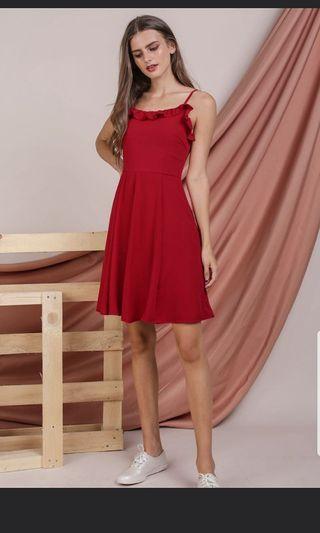 TTR Diane Ruffles Dress