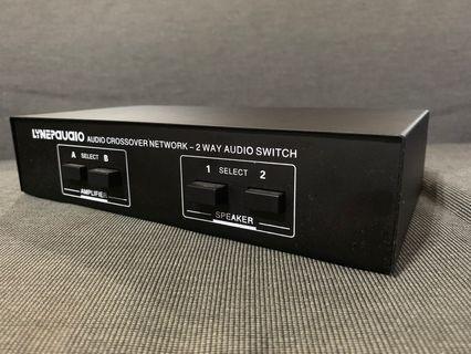 🚚 Amplifier/speaker switch
