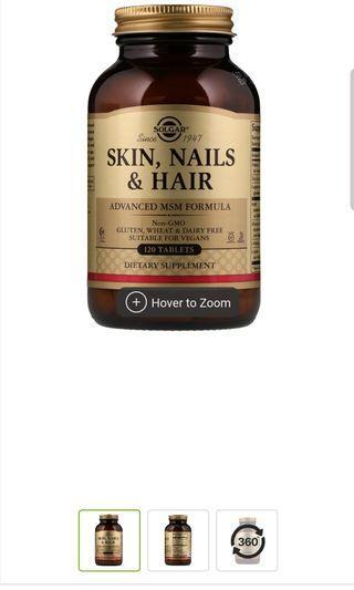 Solgar Skin Nails Hair