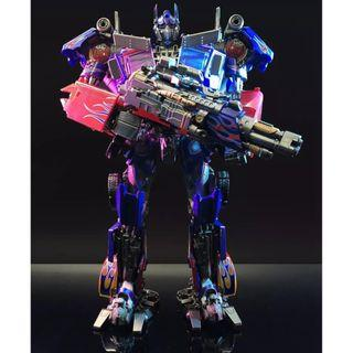 PO Black Mamba BMB LS03 LS-03F Optimus Prime Transformers Commander of God of War
