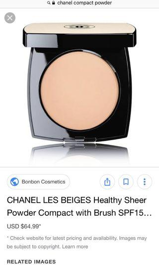 Chanel les beiges shade 020