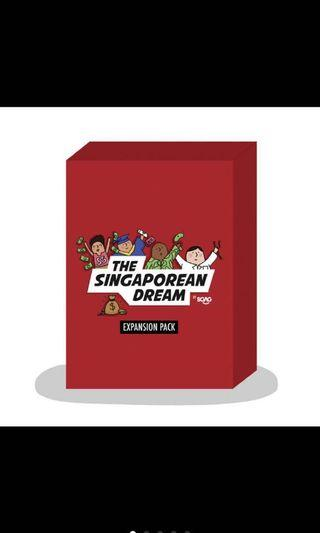 🚚 (EXPANSION PACK) The Singaporean Dream Card Game