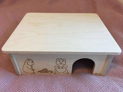 Brand New Hamster Organic Wooden House