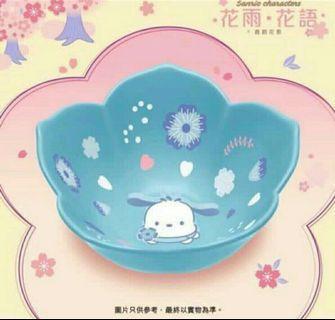 🆕 Pochacco 花形陶瓷碗