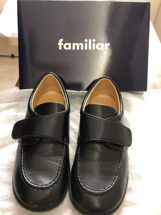 Sale$150💥Familiar 日本品牌返學健康黑皮鞋