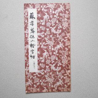 藝術書 書法字帖 蘇考慈誌小楷字帖 約20頁 中國書法