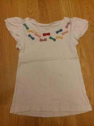 韓國製 女童衫 合2,3歲