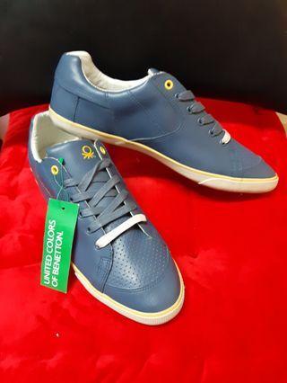 benetton 意大利 潮牌街牌 united colors of benetton 全新休閒鞋 尺碼 size EU 42 UK 8