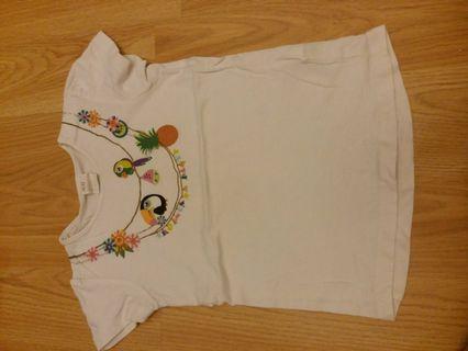 H&M 女童衫 86碼